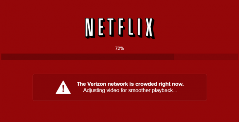 Netflix calls out Verizon for streaming stumbles