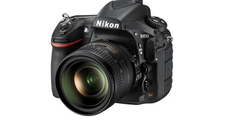Nikon D810 DSLR: 36-megapixels and FX-format sensor