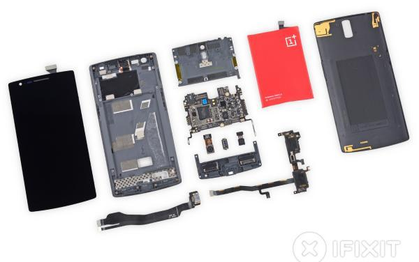 OnePlus One iFixit teardown: not so easy to repair