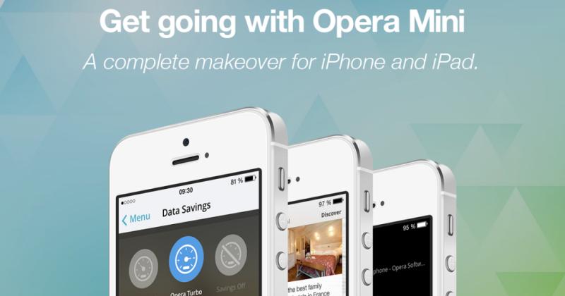 Opera Mini makes a comeback on iPhone and iPad