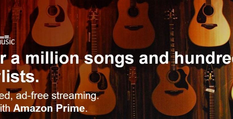 Amazon Prime Music makes a surprise launch