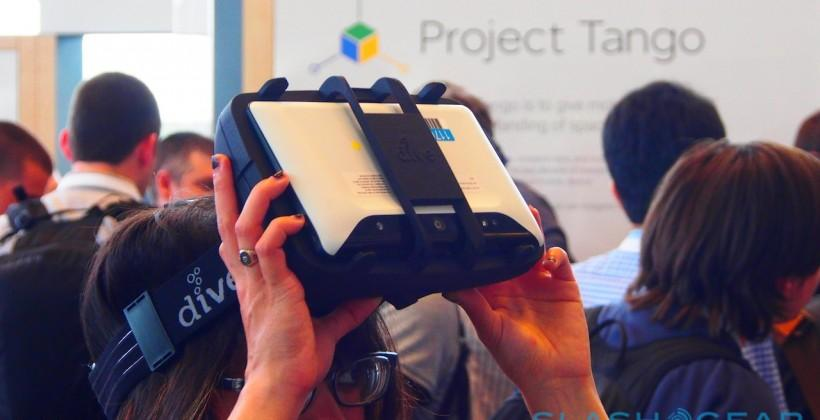 Project Tango tablet hands-on: Transformers and sharks at I/O