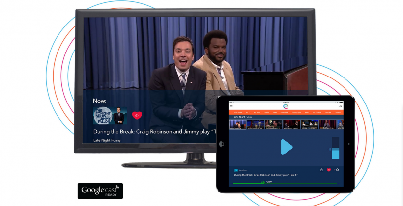 Qplay 2.0 acts as personalized iPad Chromecast home base