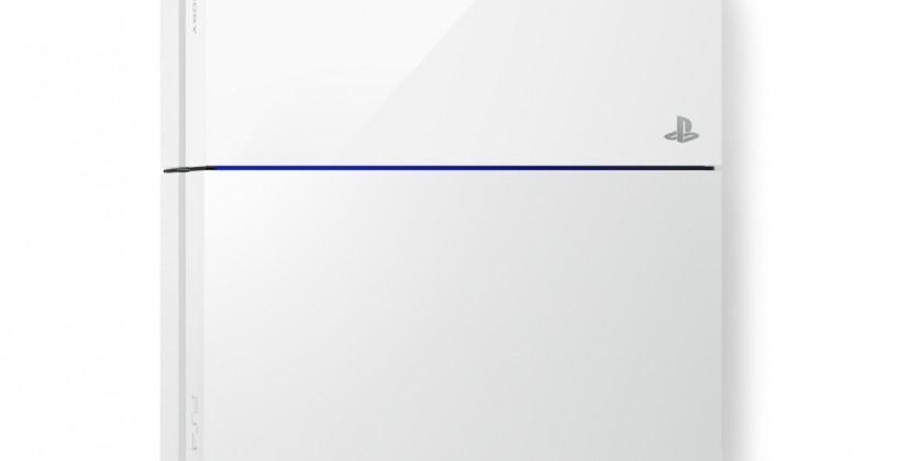 White PS4 Destiny Bundle arrives September 9