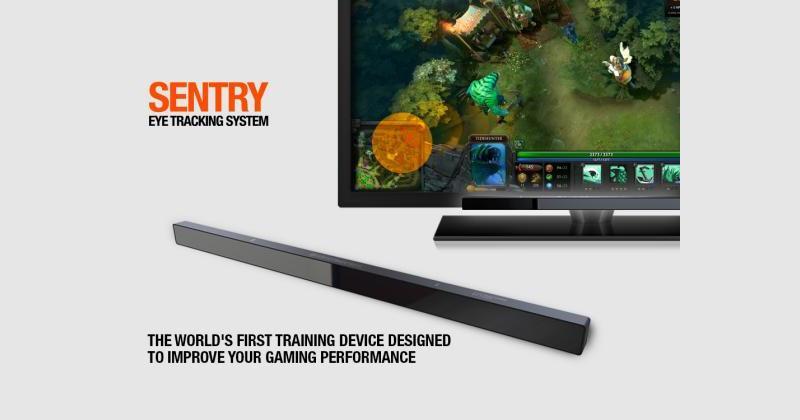 SteelSeries Sentry Eye Tracker helps train pro gamers