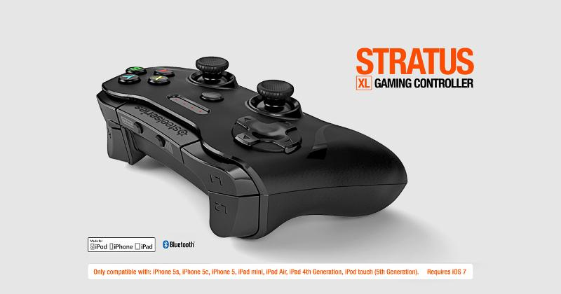 SteelSeries Stratus XL is a larger wireless controller