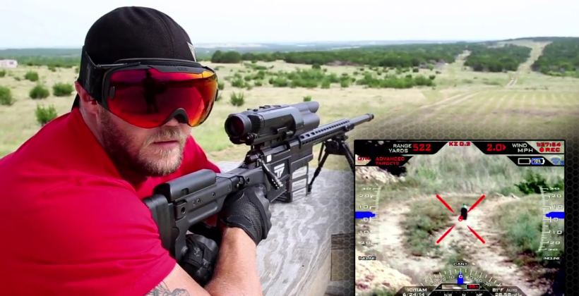 Smart rifle, Android make perfect shots without looking