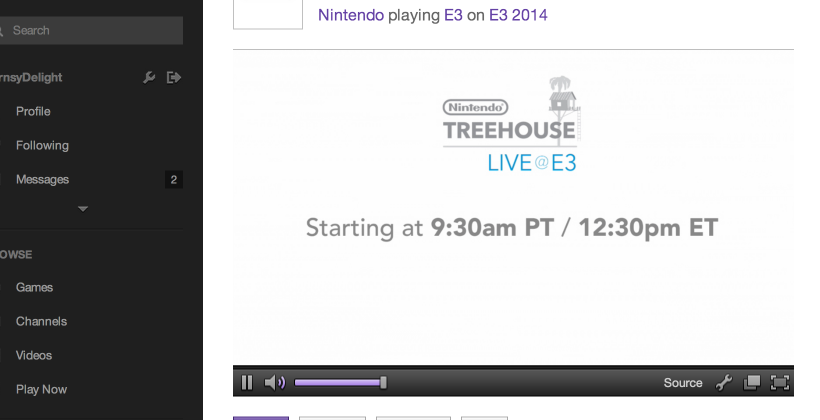 No Twitch for Wii U as Nintendo says it's not fun