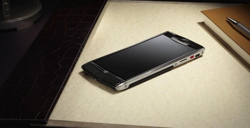 Vertu Signature Touch packs solid specs and sky-high price