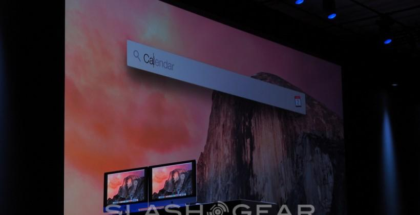 OS X Yosemite Spotlight supercharges Mac search