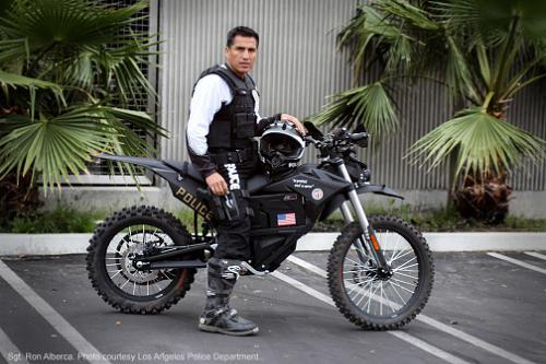 LAPD adds Zero MMX electric motorcycle to patrol fleet