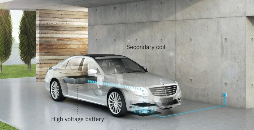 BMW and Mercedes team on wireless car charging