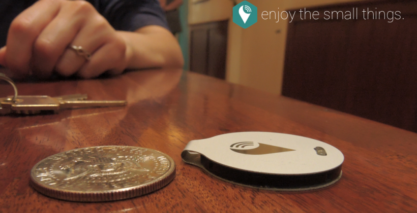 TrackR bravo is a sleek wafer that keeps track of your gadgets