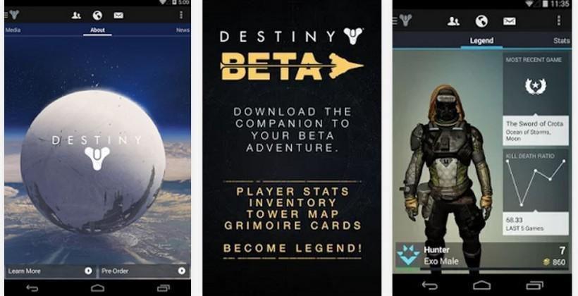 Destiny Companion App arrives on Android and iOS