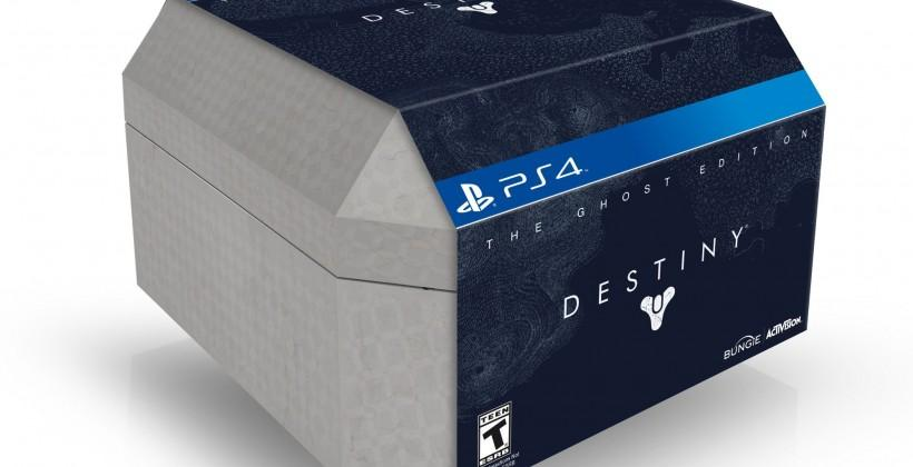 Destiny Collectors Editions detailed with the Ghost