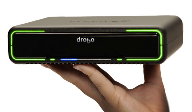 Drobo Mini with SSDs pre-loads speedy portable drive