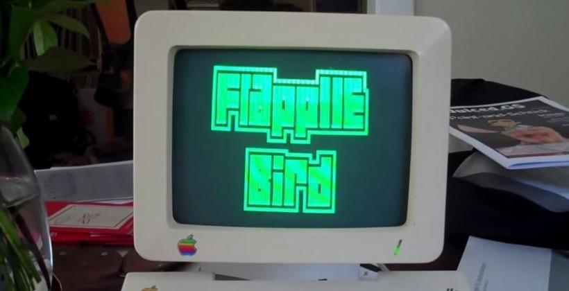 Flapple Bird: a Flappy Bird clone for the Apple IIc