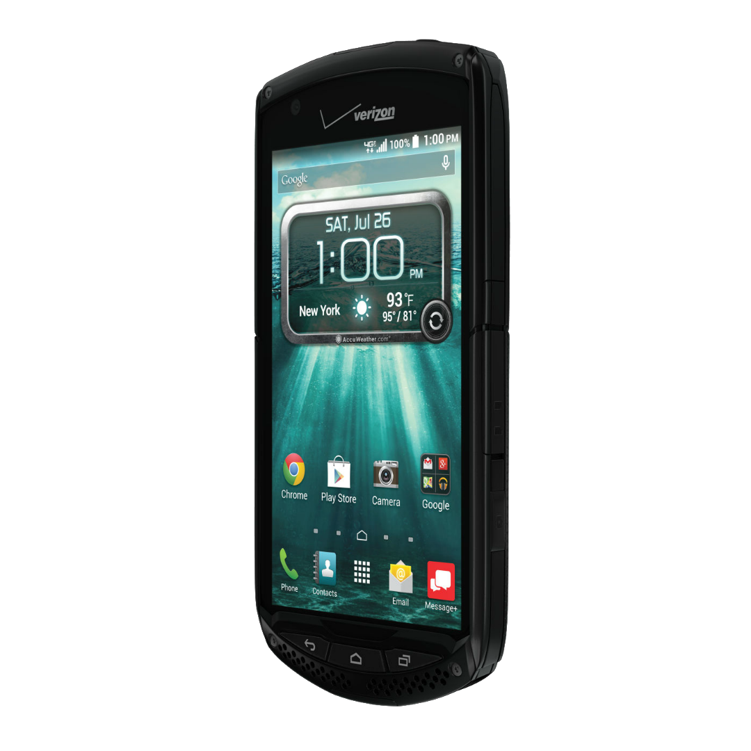 Verizon Kyocera Briagdier Marches With Sapphire Shield