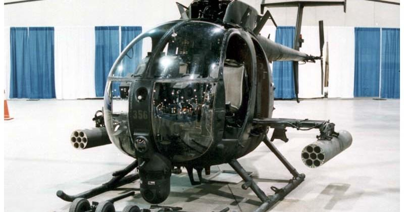 MH-6 Little Bird: the military's super-fast and small combat helicopter
