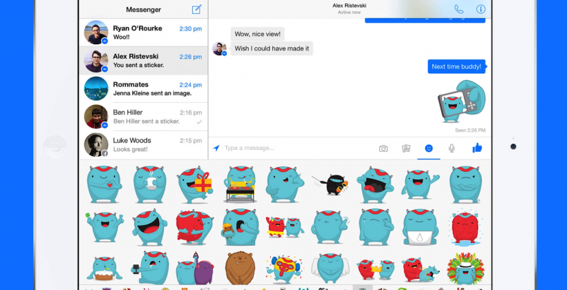 Facebook Messenger for iPad finally hits App Store