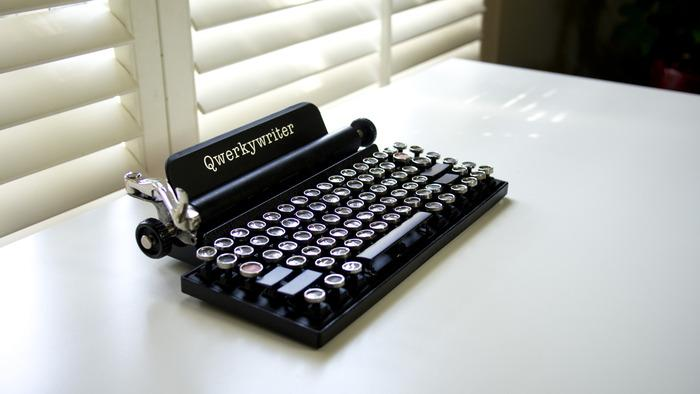 Qwerkywriter is a classy typewriter keyboard