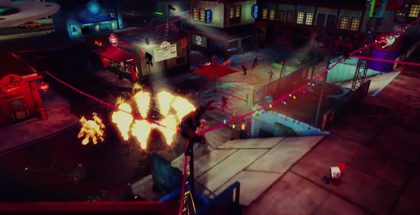 Watch Sunset Overdrive's ultra-crazy multiplayer gameplay immediately