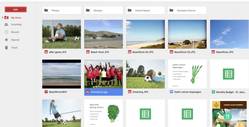 New Google Drive rolling out to users