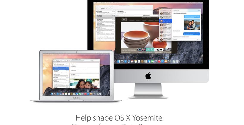 OS X Yosemite public beta program coming soon