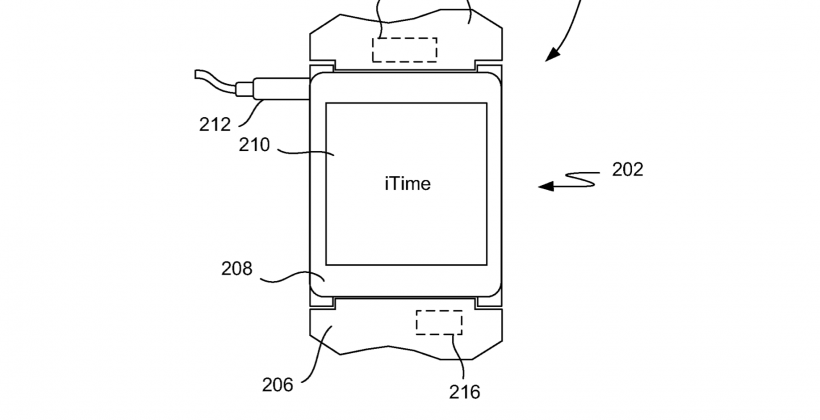 Apple iWatch patent arrives just in time for the wearables war
