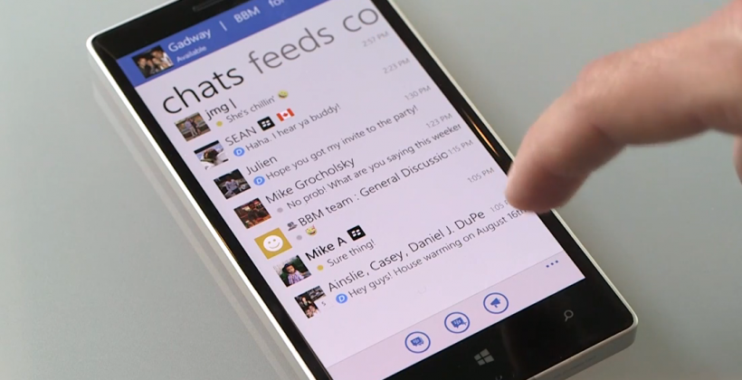 BBM released for Windows Phone, at long last