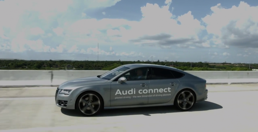 Audi puts self-driving A7 on road in highway testing