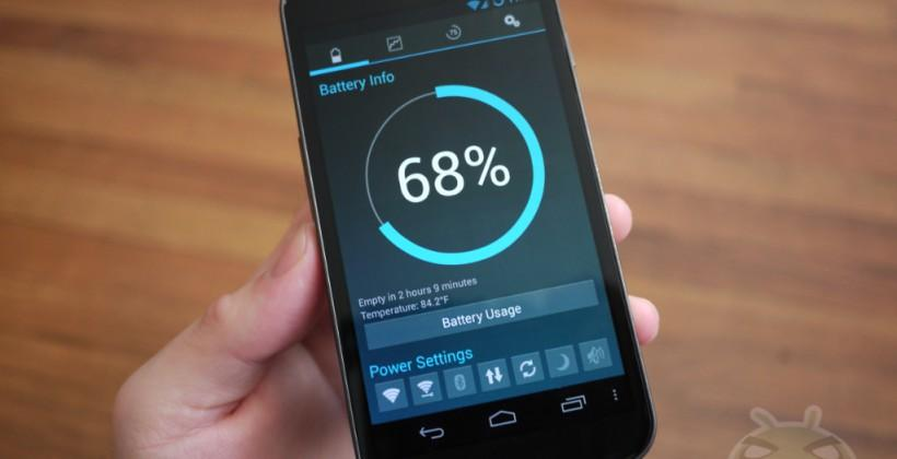 Android L Project Volta gives batteries longer life