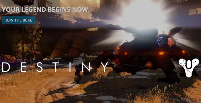 Destiny Public Beta release: details and PS4 drop