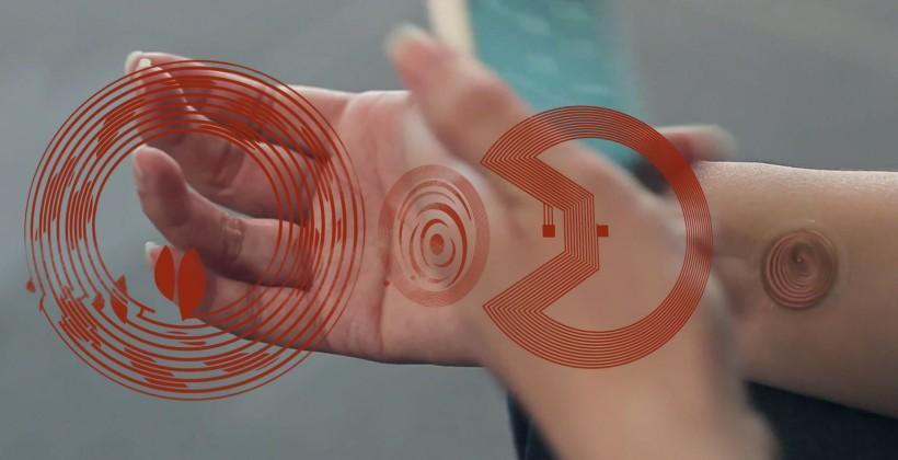 Motorola's digital tattoo made real