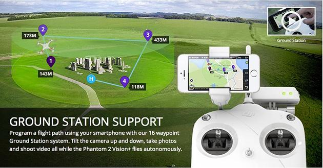 DJI Phantom 2 Vision, Vision+ can now fly solo
