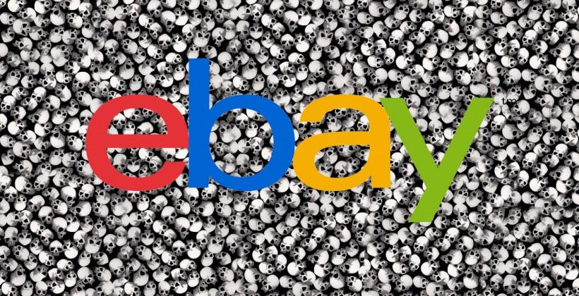 eBay is down, it's not just you
