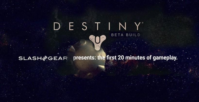 Destiny Beta begins: detailing 20 minutes of gameplay