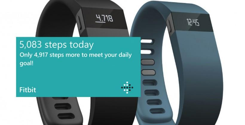 Fitbit for Windows Phone released