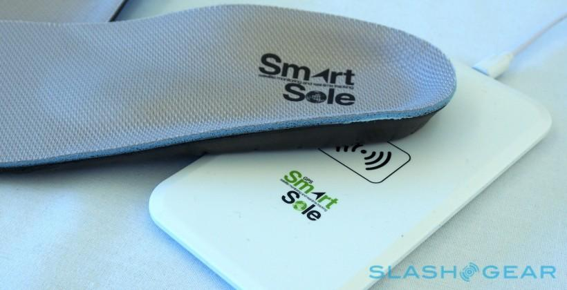 Following in your footsteps: SmartSoles bring GPS to heel