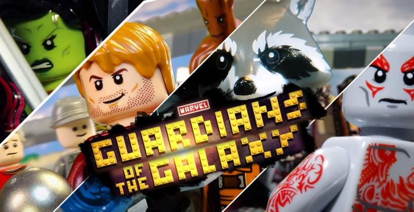 Watch: Guardians of the Galaxy trailer gets LEGO treatment