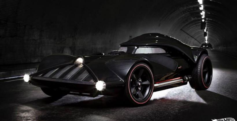 Hot Wheels made this Darth Vader car, and we don't know what to think