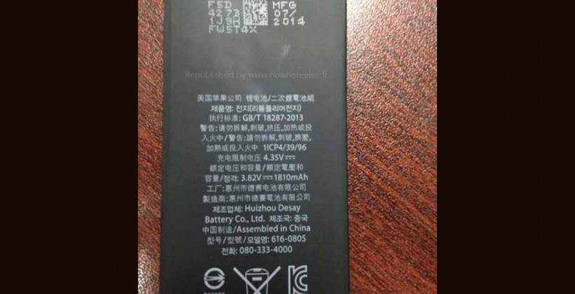 Leaked iPhone 6 battery won't give you more juice