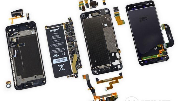 Amazon Fire Phone iFixit teardown: expect difficult repairs