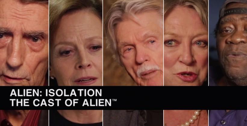 "Original ALIEN cast speaks on ""Isolation"" game experience"