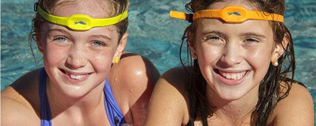iSwimband: a wearable to keep your kids safe at the pool