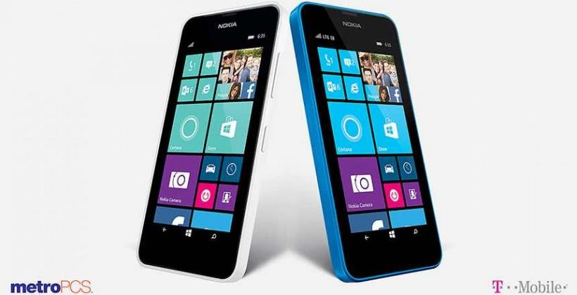 Lumia 635 for T-Mobile and MetroPCS: pricing, availability detailed