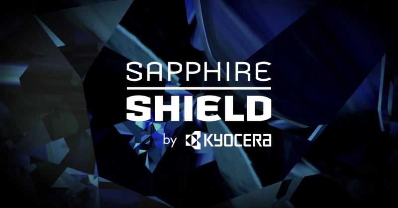 Kyocera teases durable yet affordable Sapphire Shield display