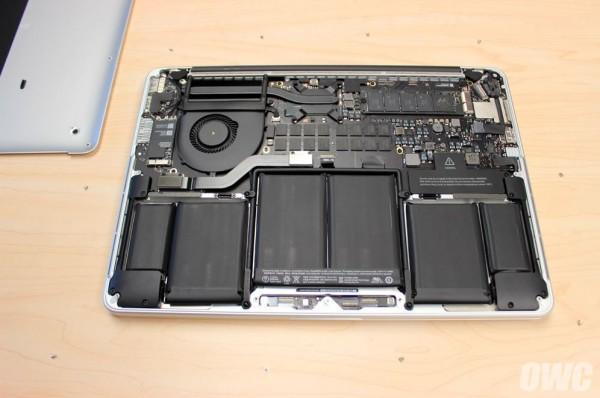 New Retina Macbook Pros get SSD benchmark, teardown - SlashGear