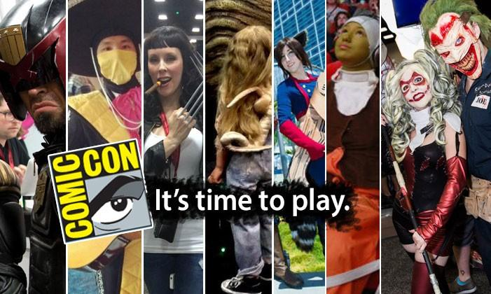 Cosplay at Comic-Con 2014: an intricate gallery of entertainment