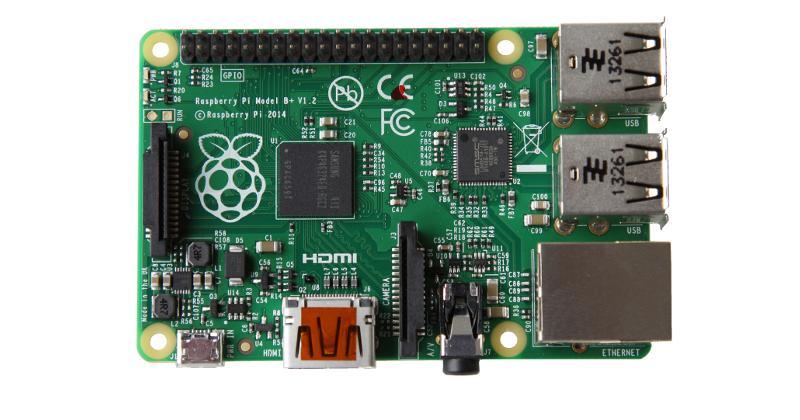 Raspberry Pi Model B+ has more slots, less power demand